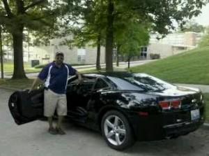 Tony and the Camaro