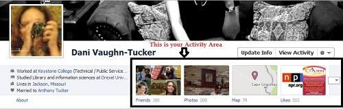 Facebook Timeline ~ Activity