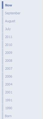Facebook Timeline ~ Time Line