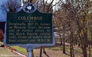 Columbus City Sign