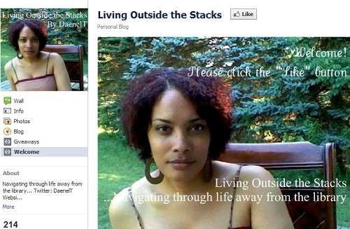 Facebook: Living Outside the Stacks
