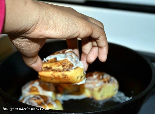 Breakfast Cinnamon Buns
