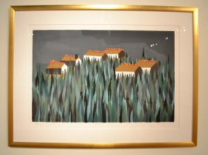 The Burning by Jacob Lawrence