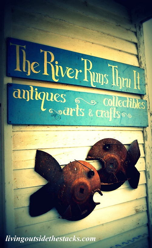 The River Runs Thru It {Antique Shop}
