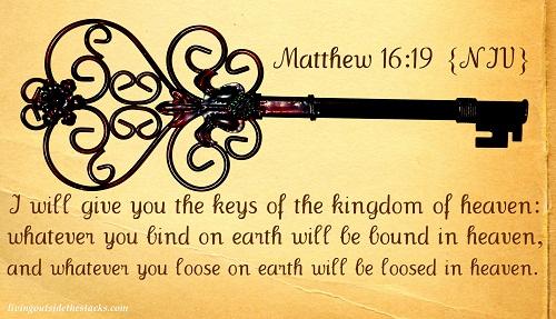 Word Filled Wednesday: Matthew 16:19