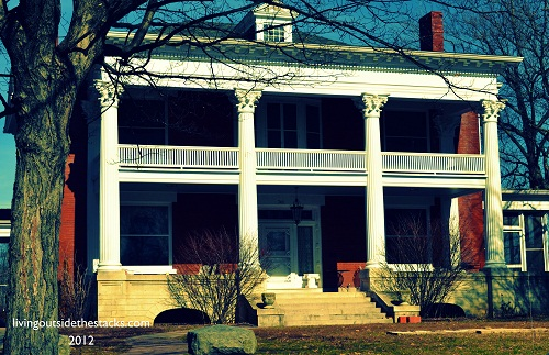 Front View {Oliver House}