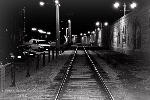Railroad Tracks {Shoot. Edit. Submit.}