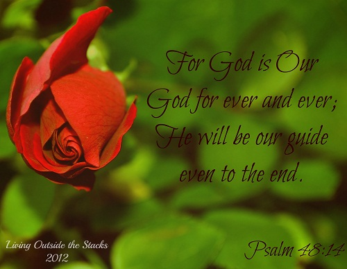 He is Our Guide Until the End {Word Filled Wednesday}