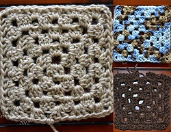 Baby Blanket Squares {Living Outside the Stacks}
