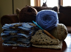 Granny Squares {Living Outside the Stacks}