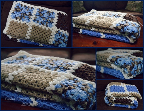 Baby Blanket {Living Outside the Stacks}