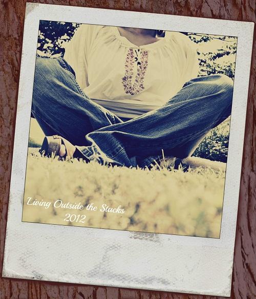 Grass Polaroid Vintage Barn Texture