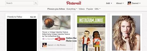 Flickr Pin on Pinterest