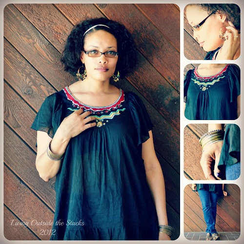 What I Wore Saturday {Living Outside the Stacks}