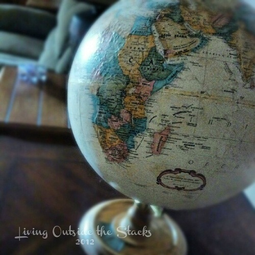 Globe {Living Outside the Stacks}
