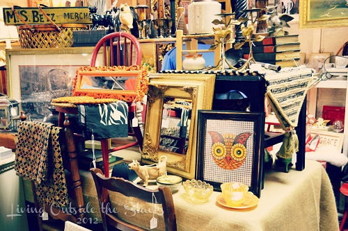 Annie Lauries Antiques {Living Outside the Stacks}