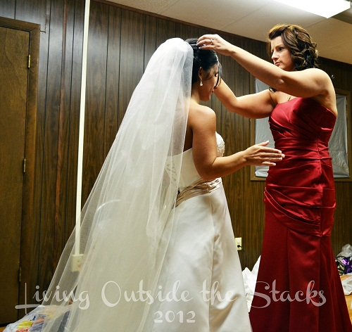 The Wedding {Living Outside the Stacks}