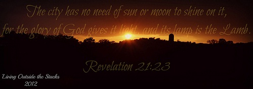 Jesus is the Light {Living Outside the Stacks}