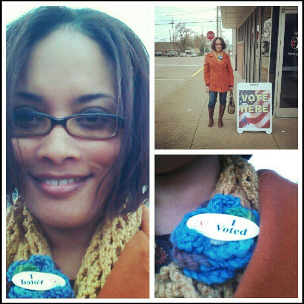 What I Wore to Vote {Living Outside the Stacks}