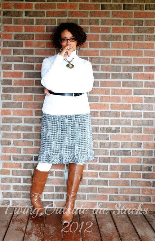 What I Wore Sunday {Living Outside the Stacks}
