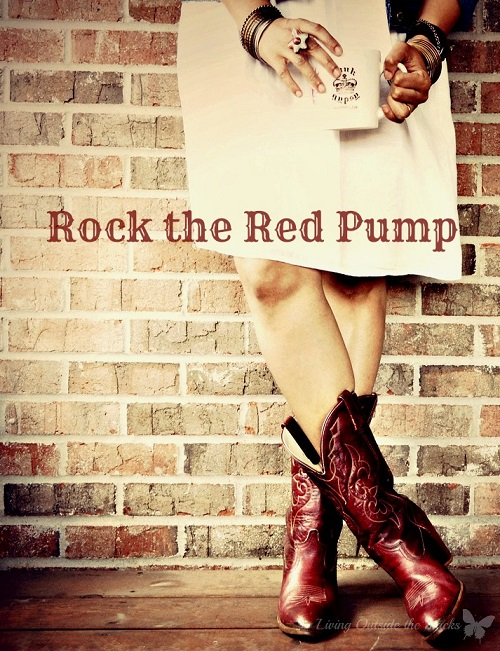 Rock the Red Pump {Living Outside the Stacks}