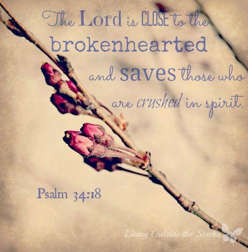 Psalm 34:18 {Living Outside the Stacks}