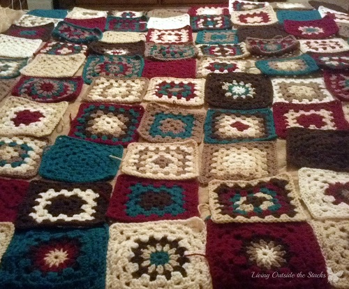 Handmade Afghan {Living Outside the Stacks}