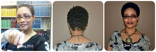 Hair Growth {Living Outside the Stacks}