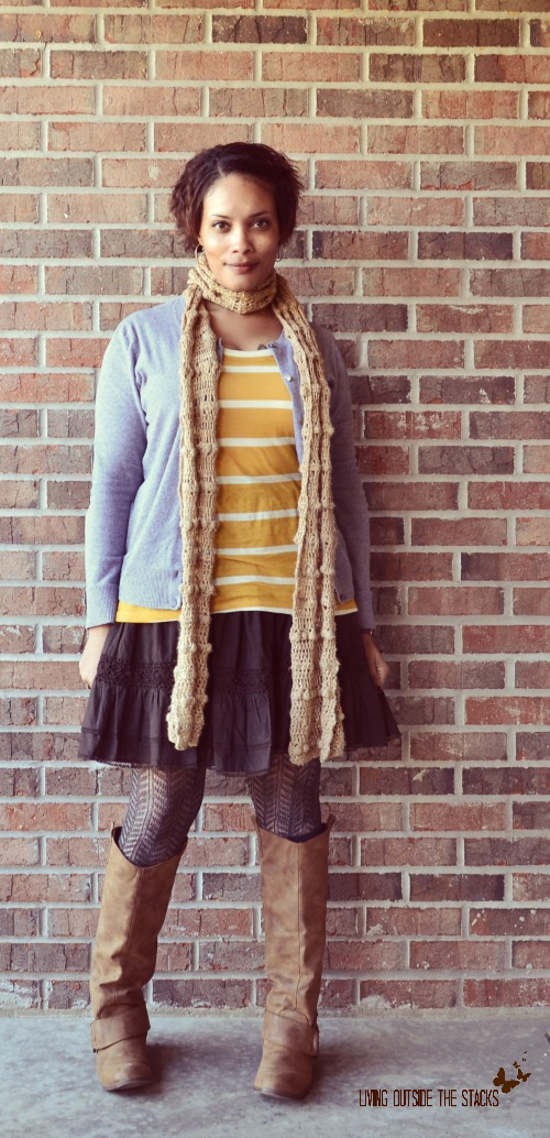 Mustard, the Perfect Neutral {Living Outside the Stacks}