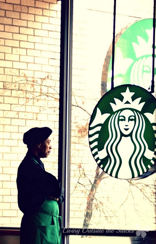 Starbucks {Living Outside the Stacks}
