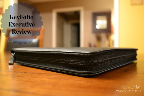 KeyFolio Executive for iPad Air Review {Living Outside the Stacks}
