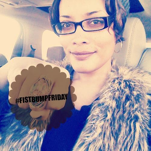 #FistBumpFriday {Living Outside the Stacks}
