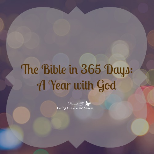 The Bible in 365 Days: A Year with God {Living Outside the Stacks}