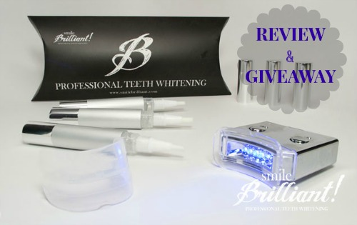 Smile Brilliant Professional Teeth Whitening Review {Living Outside the Stacks}