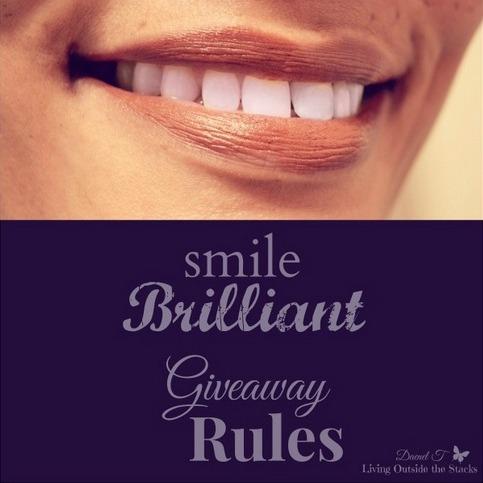 SmileBrilliant Teeth Whitening Kit Giveaway