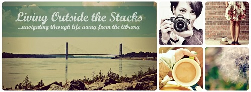 Facebook Cover {Living Outside the Stacks}