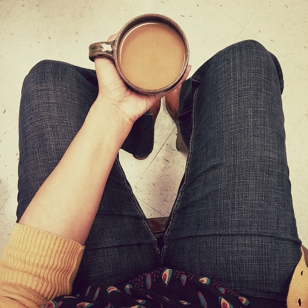 Coffee and Denim Days {Living Outside the Stacks}