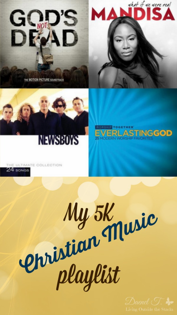 My 5K Christian Music Playlist {Living Outside the Stacks}