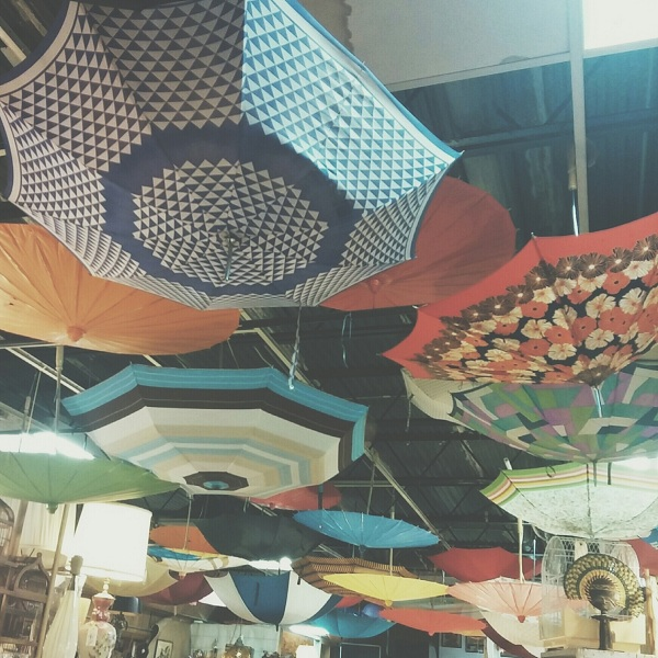 Umbrellas {Living Outside the Stacks}