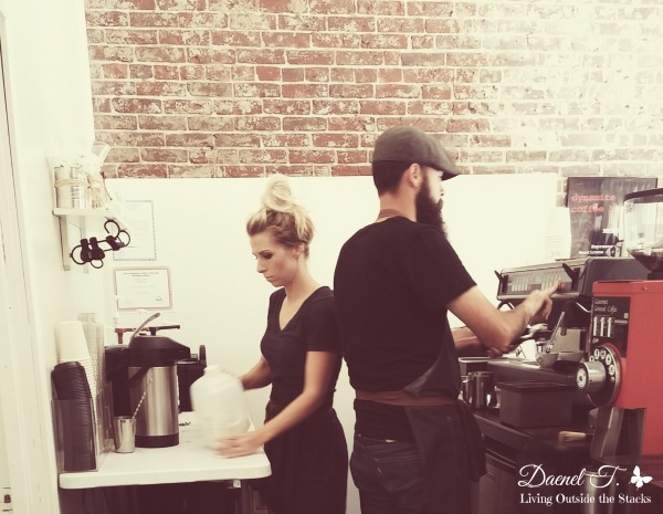 Dynamite Coffee {Living Outside the Stacks}