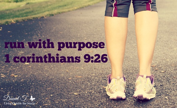 Run with Purpose {Living Outside the Stacks} #RunForGod #SweatPink #TeamLOTS