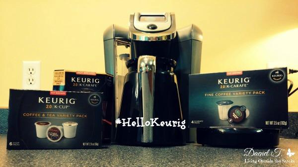 Keurig 2.0 Review #HelloKeurig {Living Outside the Stacks}
