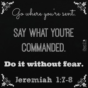 Jeremiah 1 and 7 through 8 {Living Outside the Stacks}