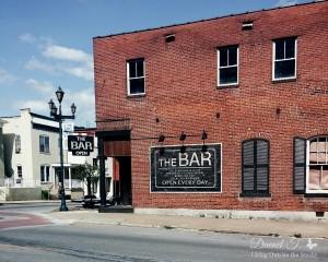 The Bar {Living Outside the Stacks}