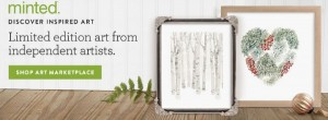 Discover Limited Edition Art {Minted}