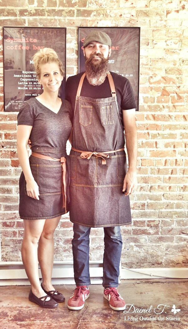 Dynamite Coffee Owners #OurProject52 #VisitCape {Living Outside the Stacks}