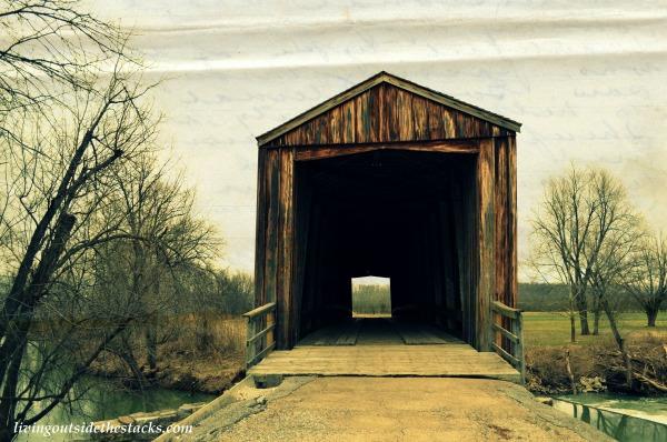 Burfordville Covered Bridge Bollinger Missouri {Living Outside the Stacks}