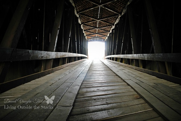 Bollinger Mill Covered Bridge {Living Outside the Stacks}