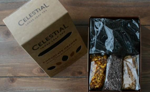 Celestial Loose Leaf Tea Chocolate Orange Black Tea Blending Kit {living outside the stacks}