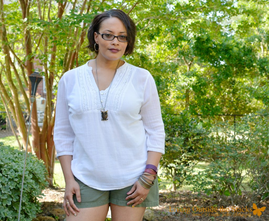 Ageless Style Favorite Summer Look {living outside the stacks}